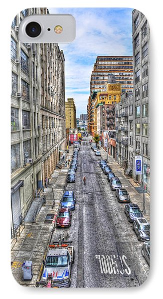 Chelsea Street From The High Line Phone Case by Randy Aveille