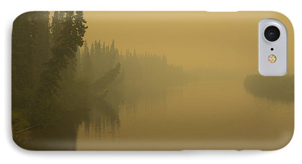 IPhone 7 Case featuring the photograph Chena River by Gary Lengyel