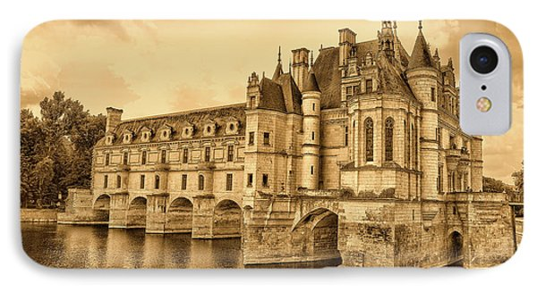 Chenonceau IPhone Case by Nigel Fletcher-Jones