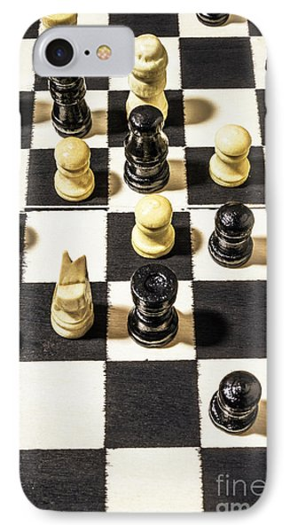Chequered Strategic Battle IPhone Case by Jorgo Photography - Wall Art Gallery