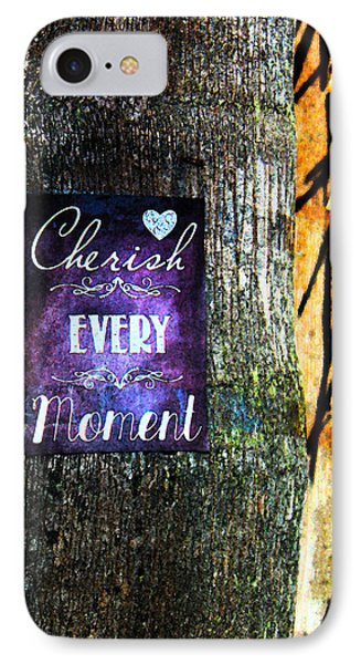 Cherish Every Tropical Moment Phone Case by Susan Vineyard
