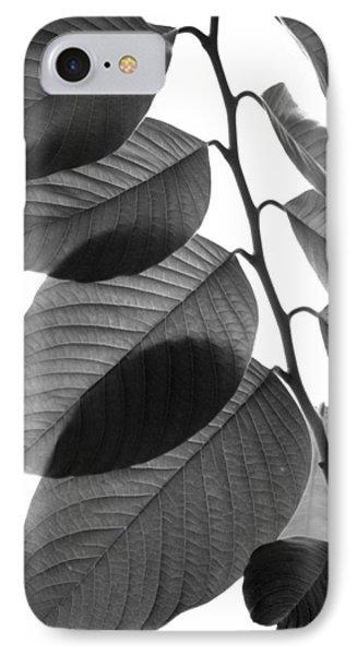 Chermoya Foliage IPhone Case by Nathan Abbott