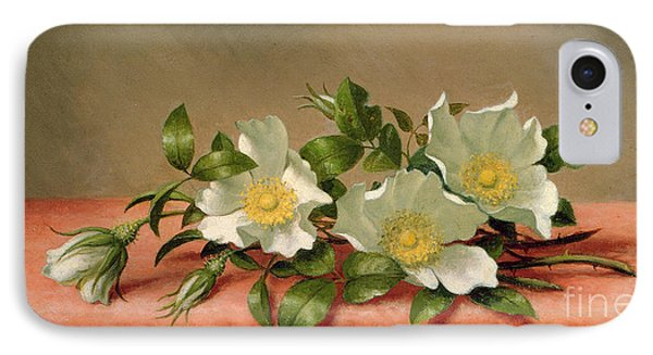 Cherokee Roses IPhone Case by Martin Johnson Heade