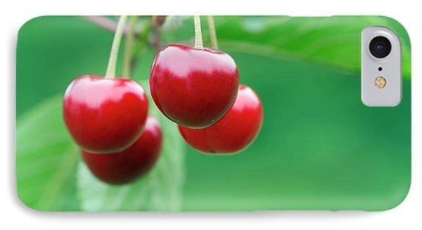 Cherries IPhone Case by Michal Boubin