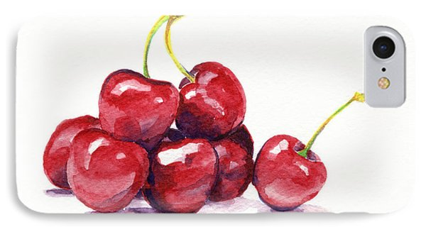 Cherries IPhone Case by Michelle Sheppard