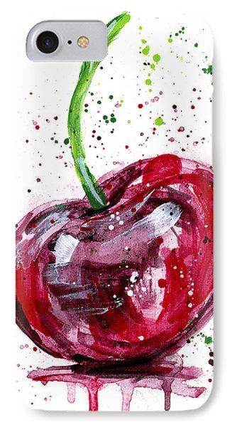 Cherry 2 Phone Case by Arleana Holtzmann