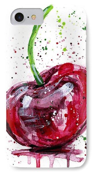 Cherry 2 IPhone Case by Arleana Holtzmann