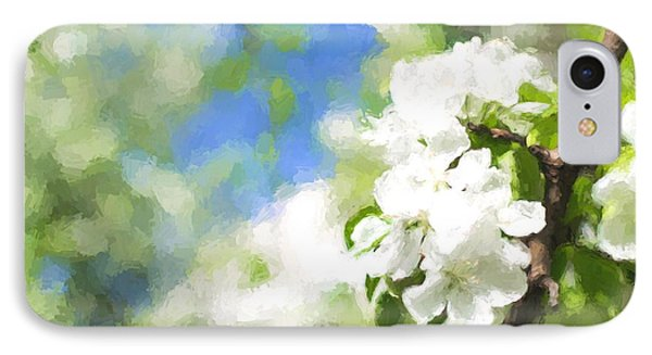 Cherry Blossom Bloom IPhone Case by John Williams