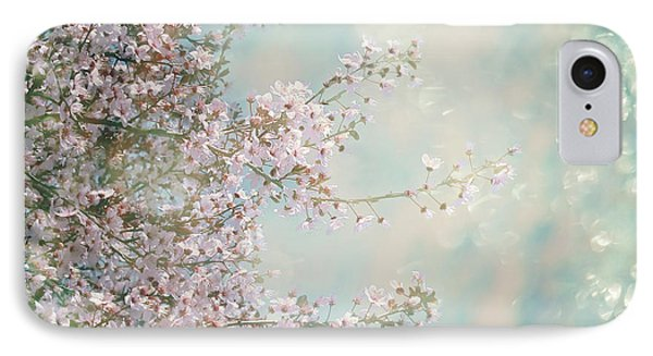 IPhone 7 Case featuring the photograph Cherry Blossom Dreams by Linda Lees