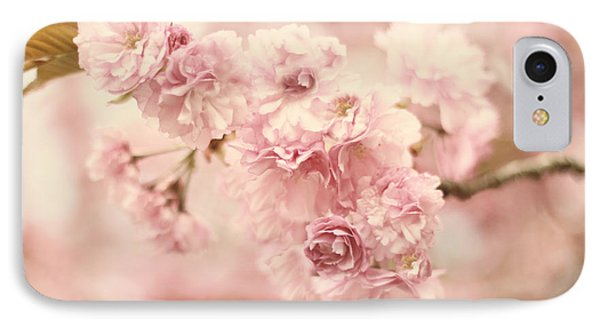 Cherry Blossom Petals IPhone Case by Jessica Jenney