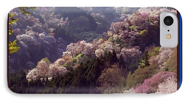 Cherry Blossom Season In Japan IPhone Case by Navin Joshi