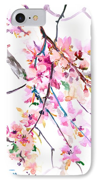 Cherry Blossom, Washington Dc IPhone Case by Suren Nersisyan