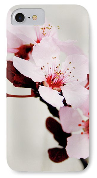 IPhone Case featuring the mixed media Cherry Blossoms 1- Art By Linda Woods by Linda Woods