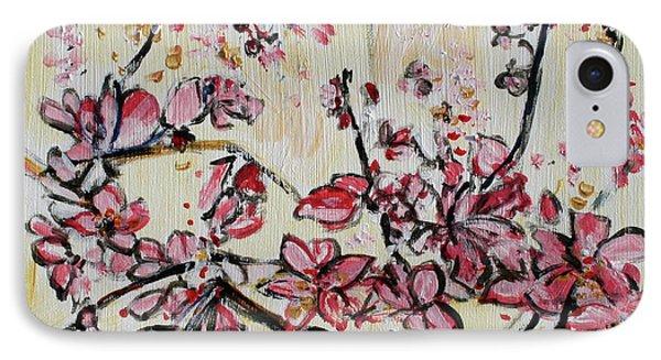 Cherry Blossoms 201751 Phone Case by Alyse Radenovic
