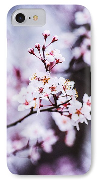 IPhone Case featuring the photograph Cherry Blossoms by Parker Cunningham