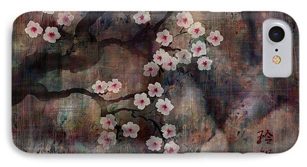Cherry Blossoms Phone Case by Rachel Christine Nowicki