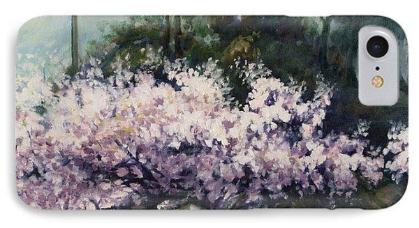 Cherry Blossoms IPhone Case by Rick Nederlof