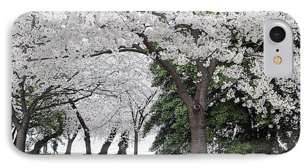 Cherry Blossoms Washington Dc IPhone Case by Steve Archbold