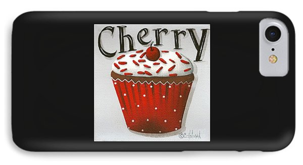 Cherry Celebration IPhone Case by Catherine Holman