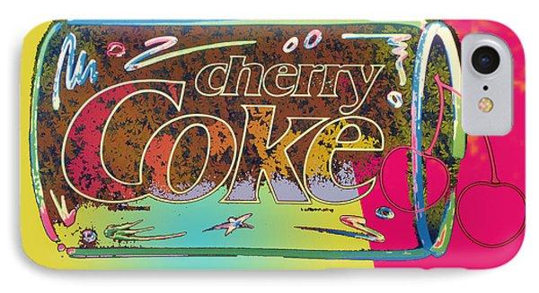 Cherry Coke 1 IPhone Case by John Keaton