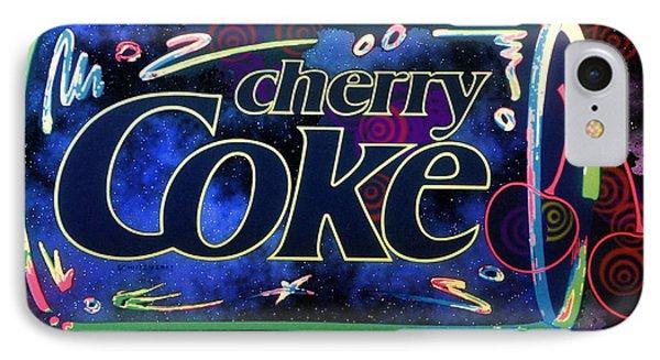 Cherry Coke 2 IPhone Case by John Keaton
