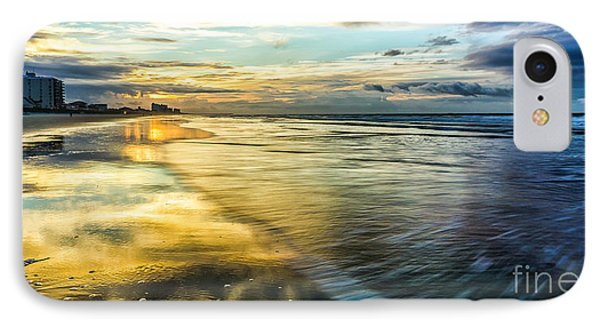 Cherry Grove Golden Shimmer IPhone Case