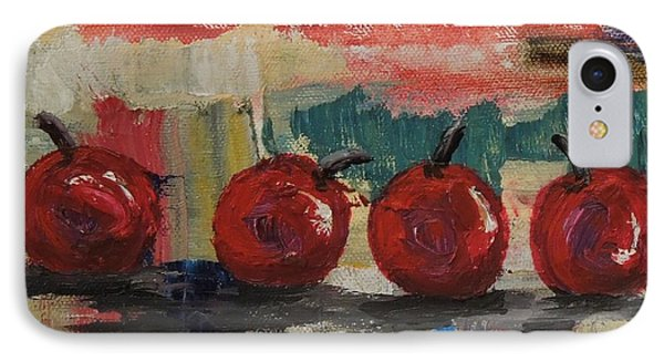Cherry Parade - Sold IPhone Case by Judith Espinoza