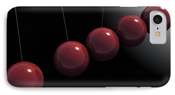 Cherry Red Knockers Phone Case by Richard Rizzo