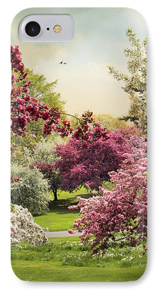 Crabapple Tree Grove IPhone Case by Jessica Jenney