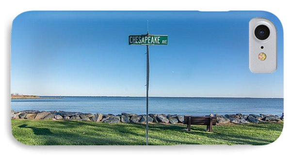 IPhone Case featuring the photograph Chesapeake Ave by Charles Kraus