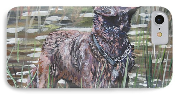 Chesapeake Bay Retriever Bird Dog Phone Case by Lee Ann Shepard