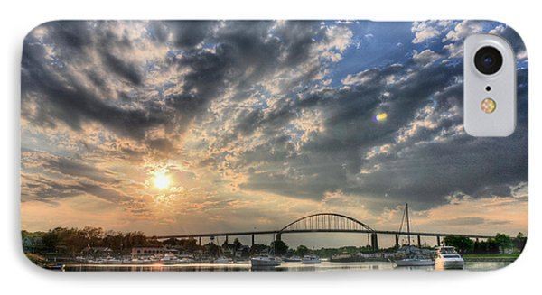 Chesapeake City IPhone Case by JC Findley