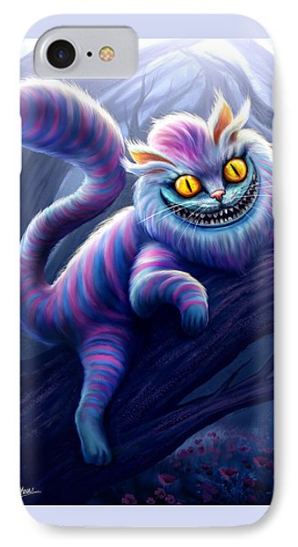 Cheshire Cat Phone Case by Anthony Christou