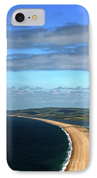 IPhone Case featuring the photograph Chesil Beach by Baggieoldboy