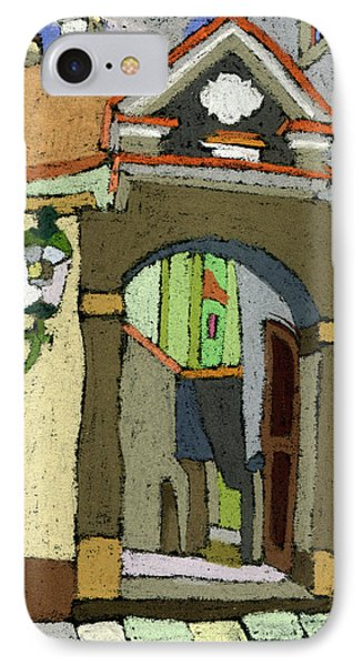 Chesky Krumlov Old Street Latran  Phone Case by Yuriy  Shevchuk