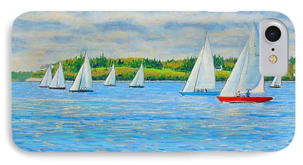 Chester Races Off Freda's Peninsula IPhone Case by Rae  Smith PAC