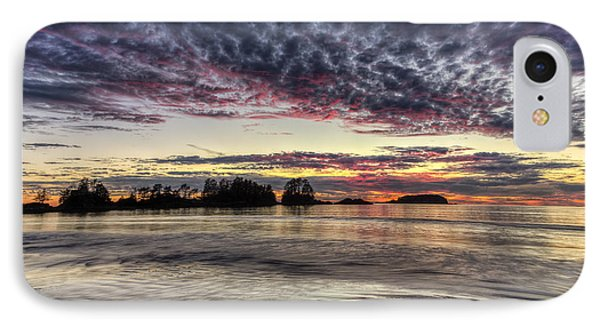 Chesterman Beach Sunset IPhone Case by Mark Kiver