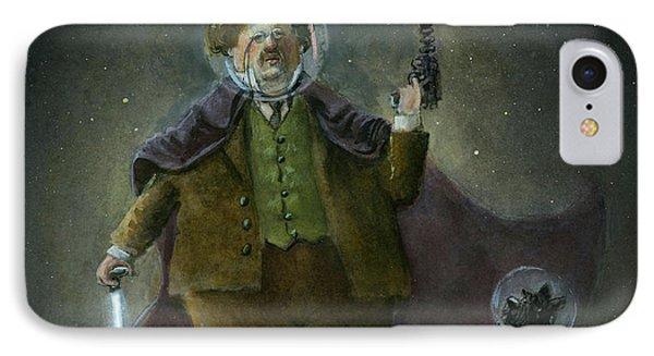 Chesterton In Space Phone Case by Theodore Schluenderfritz