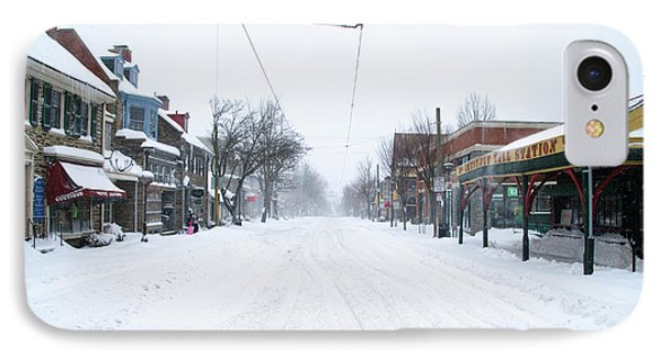 Chestnut Hill - Wintertime IPhone Case by Bill Cannon