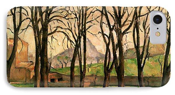 Chestnut Trees At The Jas De Bouffan IPhone Case