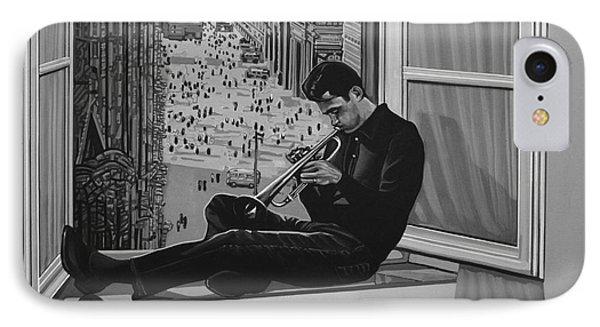 Chet Baker IPhone 7 Case by Paul Meijering