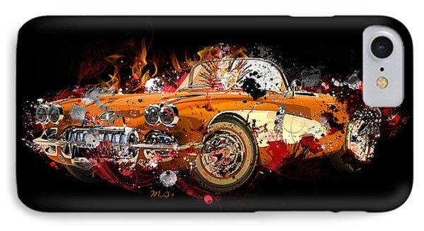 Chevrolet 2 IPhone Case by Mark Ashkenazi