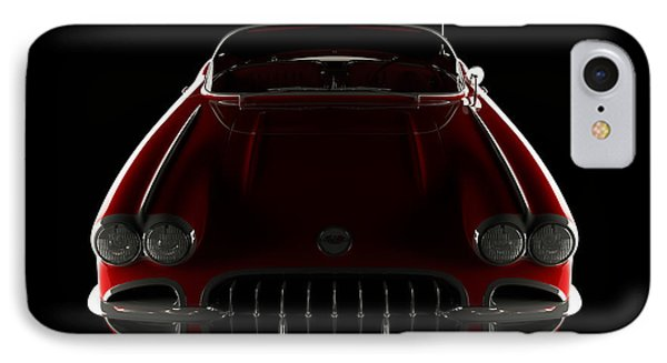 Chevrolet Corvette C1 - Front View IPhone Case