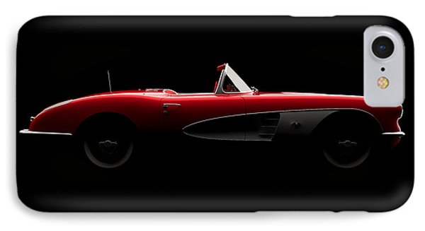 Chevrolet Corvette C1 - Side View IPhone Case
