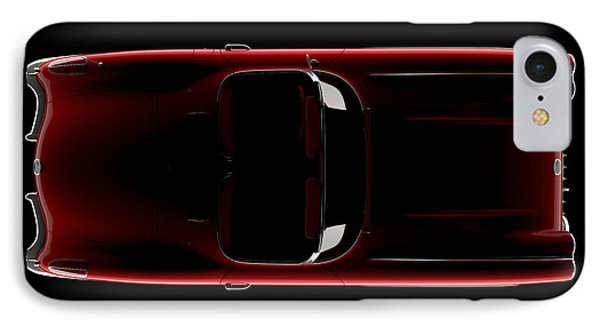 Chevrolet Corvette C1 - Top View IPhone Case