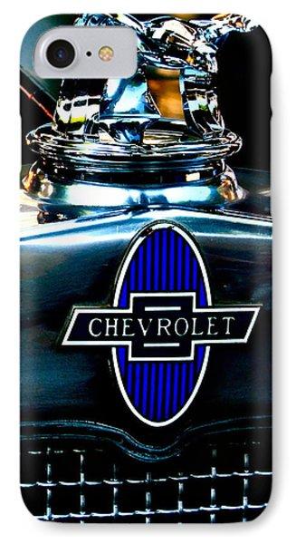 Chevrolet Hoodie Phone Case by Gwyn Newcombe