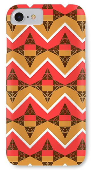 Chevron And Triangles IPhone Case