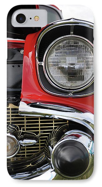 IPhone Case featuring the photograph Chevy Bel Air by Glenn Gordon