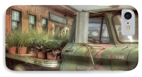 IPhone Case featuring the photograph Chevy C 30 Pickup Truck - Colby Farm by Joann Vitali