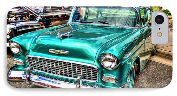 Chevy Cruising 55 IPhone Case by Dale R Carlson